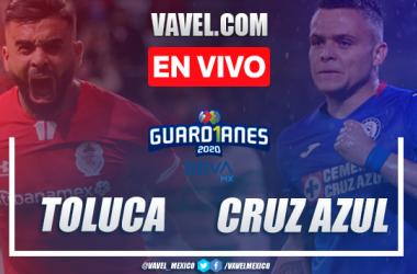 Goles y resumen: Toluca 2-0 Cruz Azul en Liga MX Guard1anes 2020