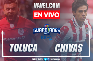 Gol y resumen: Toluca 1-0 Chivas en Liga MX 2020