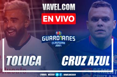 Goles y resumen: Toluca 2-1 Cruz Azul en Cuartos de Final de Ida de la Liga MX Guard1anes 2021