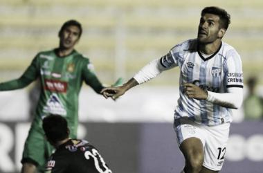 Toledo marcó el gol de la victoria. Foto: Agencias.