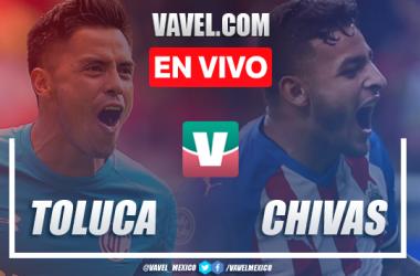 Resumen y video goles Toluca 1-3 Chivas en Apertura 2019