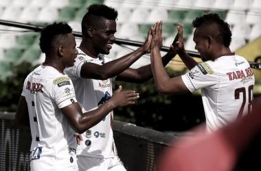 Tolima goleó a Cúcuta y se mantiene en el liderato de la liga
