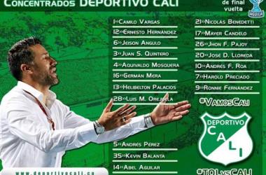Deportivo Cali va por la clasificación en Ibagué
