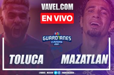 Goles y Resumen del Toluca 4-1 Mazatlán en la Jornada 5 del Guard1anes 2021