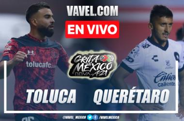 Goles  y Resumen del Toluca 1-1 Querétaro en el Apertura 2021 de la Liga MX