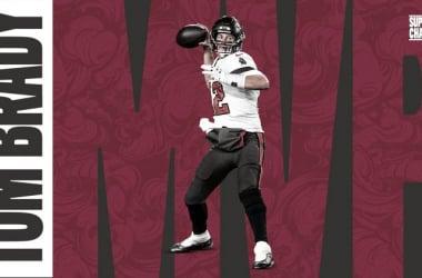 Por quinta ocasión en su carrera ganó el MVP de un Super Bowl // Foto: Bucs
