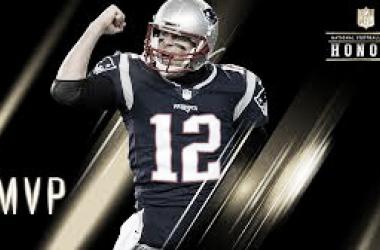 Tom Brady, Mvp de la temporada 2017 y numero 1 en el ranking 2018 (foto NFL.com)