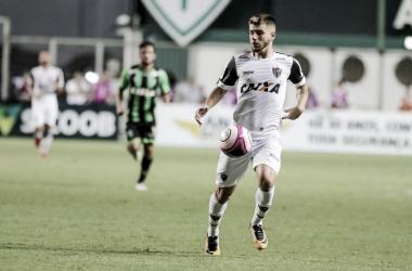 Tomás Andrade fez seu primeiro jogo com a camisa atleticana e foi fundamental na vitória do Galo sobre o América-MG (Foto: Bruno Cantini/Atlético-MG)