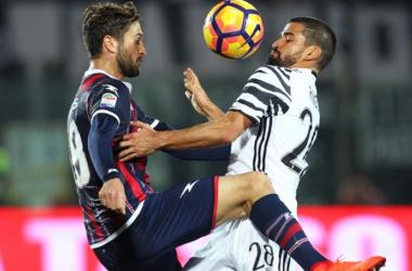 Asistencia y debut como titular en Serie A   Foto> AFP