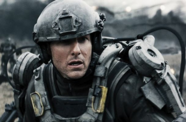 Tom Cruise como el soldado Bill Cage. (Foto (sin efecto): cinemania).