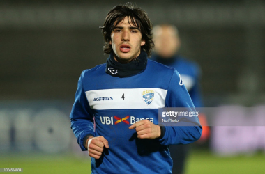 Brescia's coveted Sandro Tonali<div>Photo Courtesy of Danilo di Giovanni/NurPhoto/Getty Images</div>