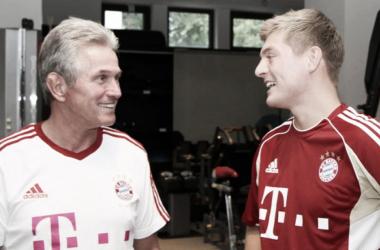 Heynces y Kroos, cuando el jugador aún estaba en el Bayern | Foto: Bayern Múnich