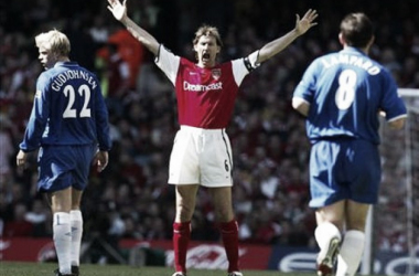 The likes of Tony Adams are a dying breed at Arsenal. | Photo: Reuters