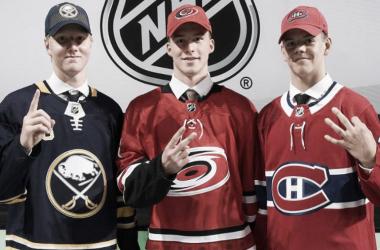 Tres europeos, top 3 de la promoción 2018   Foto NHL.com
