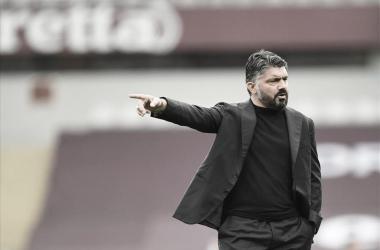 Presidente do Napoli, Aurelio de Laurentiis tem lista com três nomes para substituir Gattuso