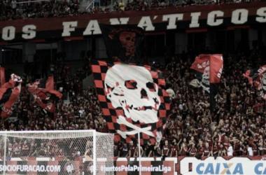 Atlético-PRse manifesta pelo fim dastorcidas organizadas