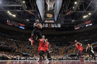 NBA Playoffs - Lo sweep è completo: Toronto assente, Cleveland passeggia - Foto Cavs Twitter