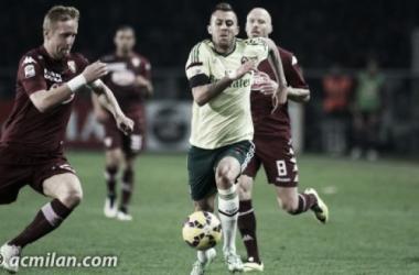 Repetindo erros de 2014, Milan sofre pressão e cede empate ao Torino