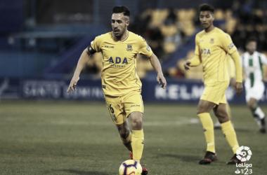 Dani Toribio en el partido frente al Córdoba | LaLiga 1|2|3
