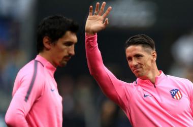 Torres, siempre pendiente del Atlético | Foto: Zimbio