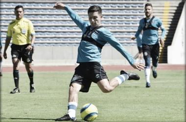 Con 30 años de edad, Torres se volverá a encontrar con Enrique Meza (Foto: Club Puebla)