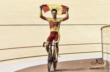 Albert Torres consigue el oro en el Omnium / Fuente: eurotrack