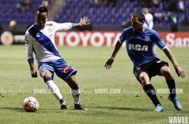 El Puebla empató a dos goles ante Racing en la ida del repechaje de la Copa Libertadores (Rodrigo Peña | VAVEL)