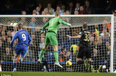 A defensive calamity and mix-up between Joe Hart and Matija Nastasic allowed Torres to net the winner.
