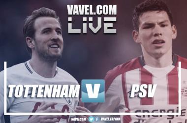 Resumen Tottenham vs PSV en Champions League 2018 (2-1)
