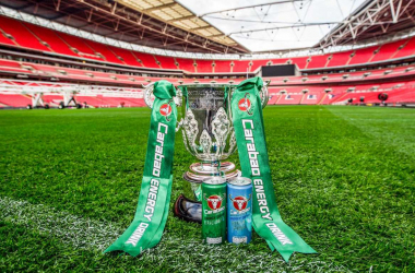 The holders of the Carabao Cup are Manchester City, who beat Arsenal 3-0 in last year's final | Photo via Sky Sports