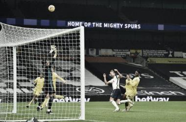 Kane, el máximo anotador del Tottenham Foto: Premier League.