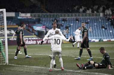 Leeds 3-1 Tottenham. Foto: Leeds United.