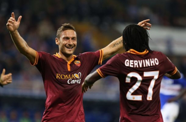 Roma: Gervinho out con il Sassuolo, Totti è un rebus