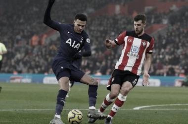 Resumen del Tottenham 3-2 Southampton en FA Cup 2020