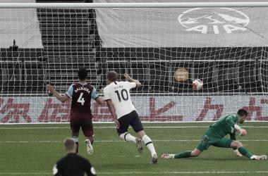 Com gol de Kane, Tottenham quebra jejum e vence duelo londrino com West Ham