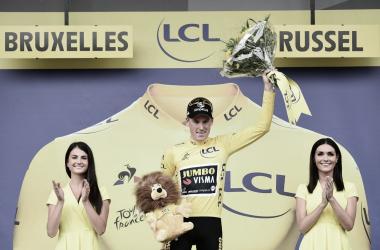 Holandês venceu a primeira camisa amarela de 2019 (Tour de France/Divulgação)