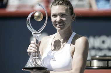 Simona Halep won the title in Canada last year. Photo: Eric Bolt/USA Today