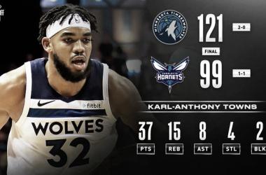 Resumen NBA: El año de Karl-Anthony Towns ha llegado