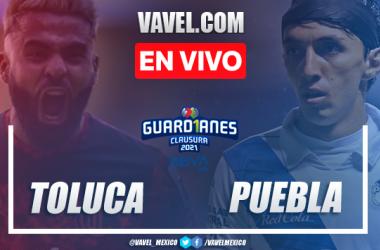 Resumen y goles: Toluca 4-4 Puebla en Jornada 12 de la Liga MX Guard1anes 2021
