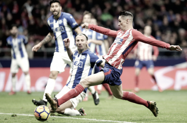 Tan solo dos victorias en los últimos cinco enfrentamientos del Atlético de Madrid con el Alavés