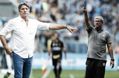 (Fotos: Lucas Uebel / Grêmio FBPA | Ricardo Duarte / S. C. Internacional | Fotomontagem: Lucas Alves / VAVEL Brasil)