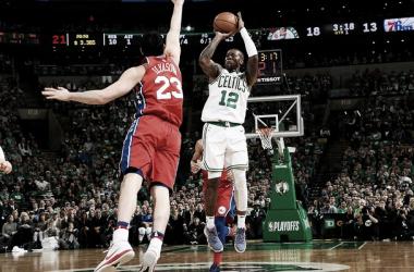 Terry Rozier. Fonte: Boston Celtics/Twitter