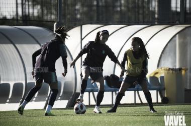 Imagen de archivo. El FC Barcelona se ejercita en la Ciudad Deportiva   Foto: Noelia Déniz - VAVEL