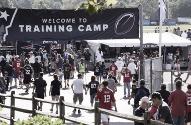 Los campos de entrenamiento de la NFL ya tienen fecha