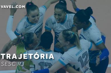 Regular do início ao fim: confira a trajetória do Sesc RJ na Superliga Feminina