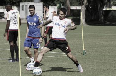 Guerrero treina como titular e estreia pelo Flamengo será diante do Internacional