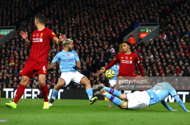 Guardiola explains comments to referee following Liverpool defeat
