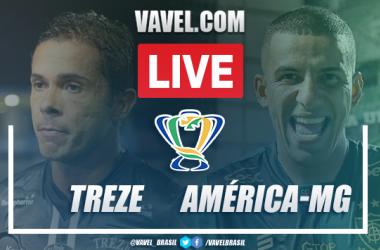 Gols e melhores momentos Treze 0 x 1 América-MG pela Copa do Brasil