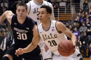 Michigan State Rolls Over Northwestern To Complete Season Sweep