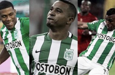 Orlando Berrío, Macnelly Torres y Farid Díaz: 'verdolagas' de Selección